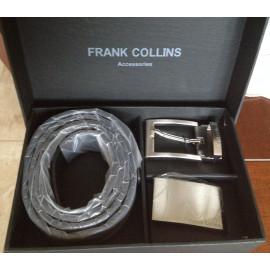 Frank Collins ceintuur met dubbele gesp