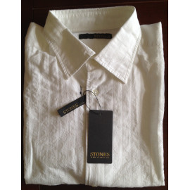 Stones shirt Contemporary white