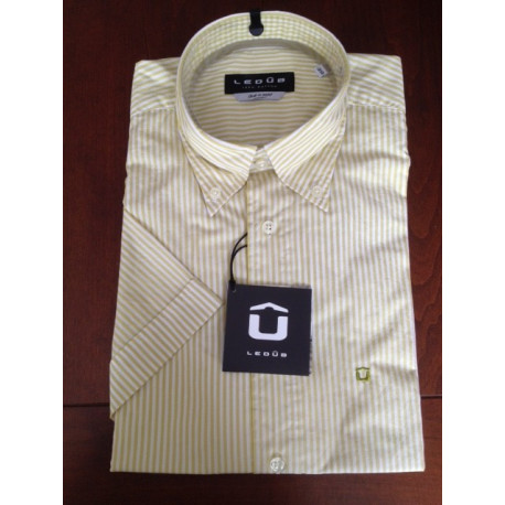 Ledub streep shirt lime km