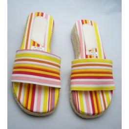 Instappers - rood-oranje-roze-geel